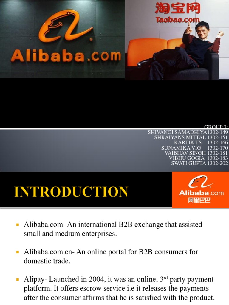 Alibaba-taobao Final 2 | E Bay | Alibaba Group