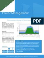 Miradore Power Management
