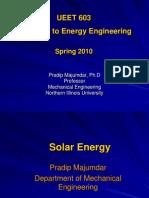 Lecture - 3 Solar