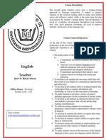 english syllabus 2013-14