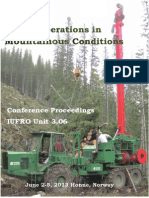 Proceedings IUFRO 3.06 Norway