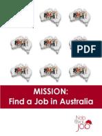 Mission-Find a Job in Australia