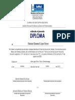 Diploma Telesecundaria
