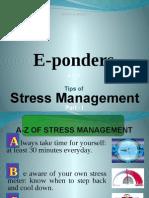 A-Z of Stress Management