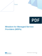 Miradore for Managed Service Providers