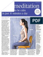 Fast Meditation