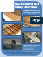 Wooden Surfboard Manual