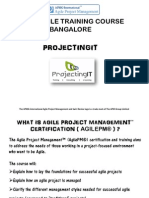 APMG Agile Project Management Training Course in Bangalore