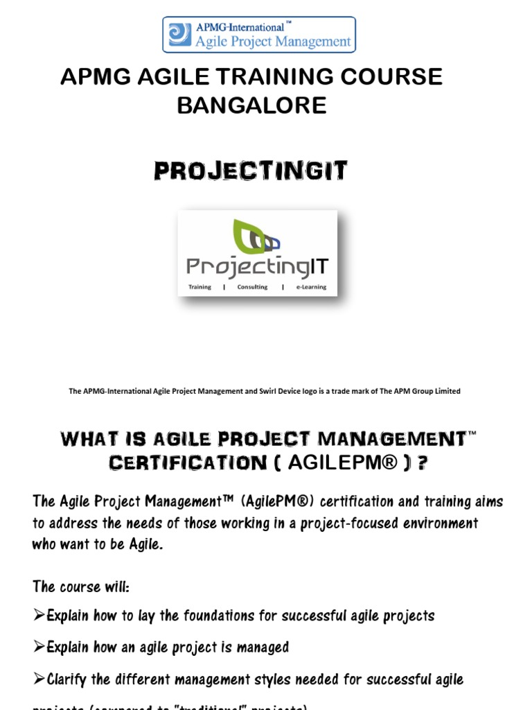 Apmg agile project management training course in bangalore agile apmg agile project management training course in bangalore agile software development test assessment 1betcityfo Image collections