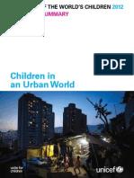 State of the World's Children 2012_children in an Urban World