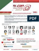 Post Event Report of the CiMi.CON Evolution 2013 conference in Berlin