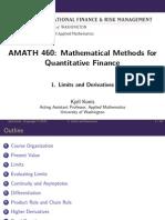 Mathematicalmethods Lecture Slides Week1 LimitsAndDerivatives