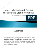 Smart Scheduling & Pricing for Wirless Cloud Networks (1)