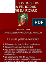 SOBRE LOS HABITOS DE LA FELICIDAD MATTHIEU RICARD