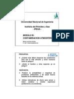 Control de Emisiones Atmosfericas - 3ra Clase 21-07-2013