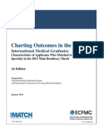 NRMP/ECFMG - Charting Outcomes in the Match for International Medical Graduates