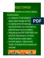 Product Strategy  different types of strategy used in rural india. Rural Marketing is defined as any marketing activity in which the one dominant participant is from a rural area. This implies that rural marketing consists of marketing of inputs (products or services) to the rural as well as marketing of outputs from the rural markets to other geographical areas.  Marketing is the process used to determine what products or services may be of interest to customers, and the strategy to use in sales, communications and business development. It generates the strategy that underlies sales techniques, business communication, and business developments. It is an integrated process through which companies build strong customer relationships and create value for their customers and for themselves. It is a function which manages all the activities involved in assessing, stimulating and converting the purchasing power to effective demand for a specific product and service. This moves them to the