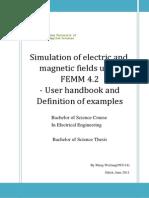 FEMM - User Manual