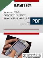 Concepto de Textotipos
