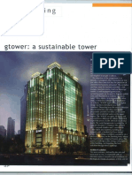 Architecture Malaysia G Tower a Sustainable Tower