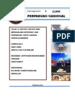 faktor yang menghalang integrasi dan perpaduan di malaysia