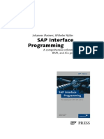 Sappress Interface Programming
