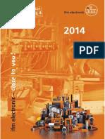 Ifm Gesamtkatalog der Produkte Deutsch 2014