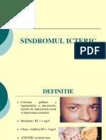 Sindromul Icteric