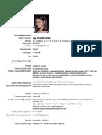 CV Jiga Elena Alexandra Romana