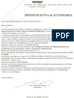 Reforma Administrativa na EMDUR