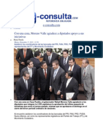 17-12-2013 E-consulta.com - Con Una Cena, Moreno Valle Agradece a Diputados Apoyo a Sus Iniciativas