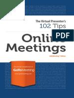 1080 Group GoToMeeting eBook 102 Tips for Online Meetings