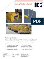 Pipeline Recovery Tools External