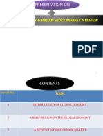 Globel Economy & Indian Stock Market