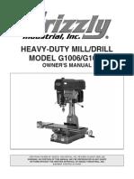 g1006 Milling Machine