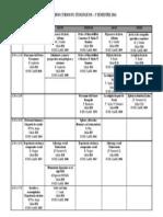 Horario cursos FGT 2014