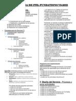 Estructura de ITIL V3 fundations