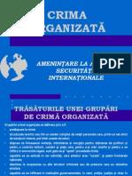 crima organizata