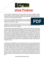 ProShow Producer 3 Photodex MANUALE ITALIANO