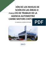 Evaluacic3b3n de Los Niveles de Iluminacic3b3n Chevrolet Calibracion1