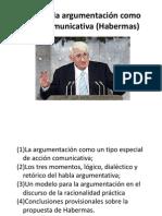 Teoría de la argumentación como acción comunicativa (presentacion)