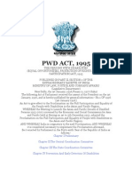 PWD ACT- 1995