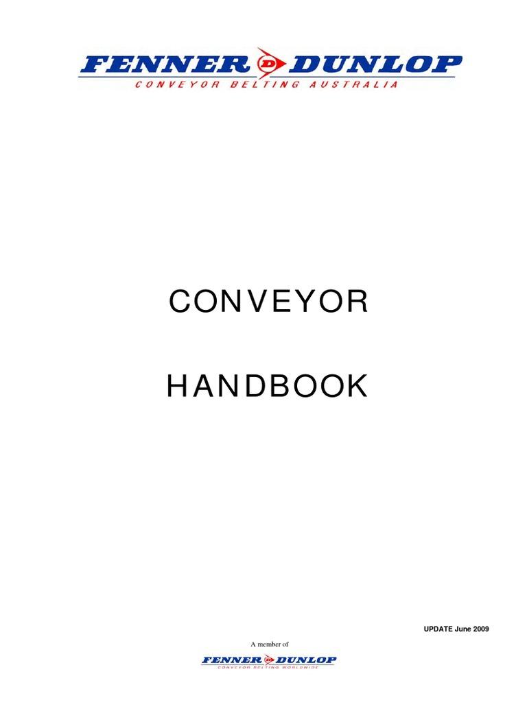 fenner dunlop conveyor handbook