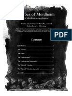 Heroes of Mordheim Campaign Part 1