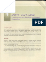Case Study 4 Sprite - Soft Drink CB