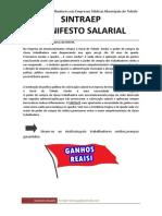 Manifesto Salarial