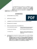 Agenda 09 Enero 2014