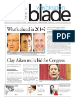 Washingtonblade.com. Volume 45, Issue 2, January 10, 2014