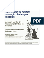 Some Science-related Strategic Challenges - Managing UK Energy Demand Excerpt