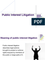 Public Interest Litigation by Madhu